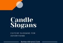 Candle Marketing slogans