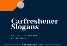 Car Freshener Marketing Slogans