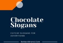 Chocolate Marketing Slogans