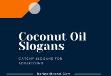 Coconut oil marketing slogans