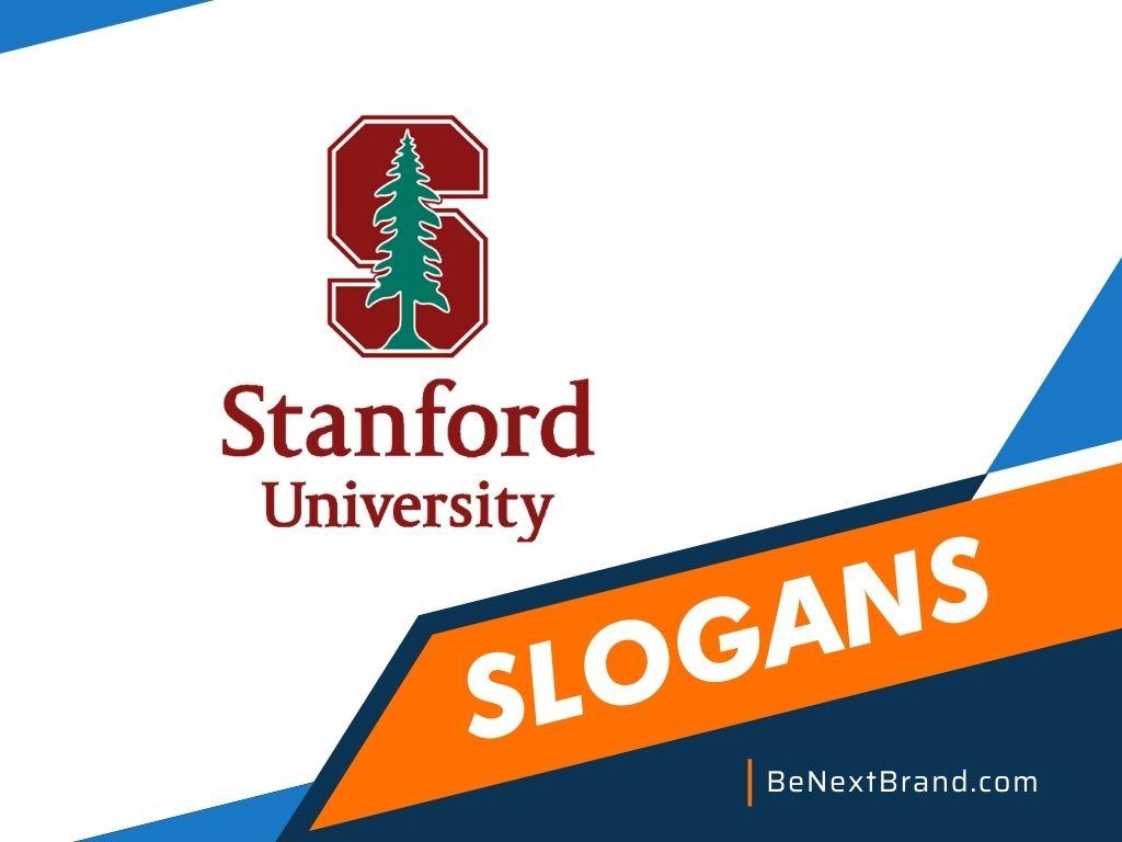 Stanford Brand Slogans