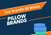 Pillow Brands in the World