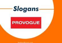 Provogue Brand Slogans