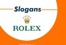 Rolex Brand Slogans