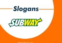 Best Subway Brand Slogans