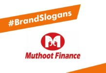 Muthoot Finance Brand Slogans