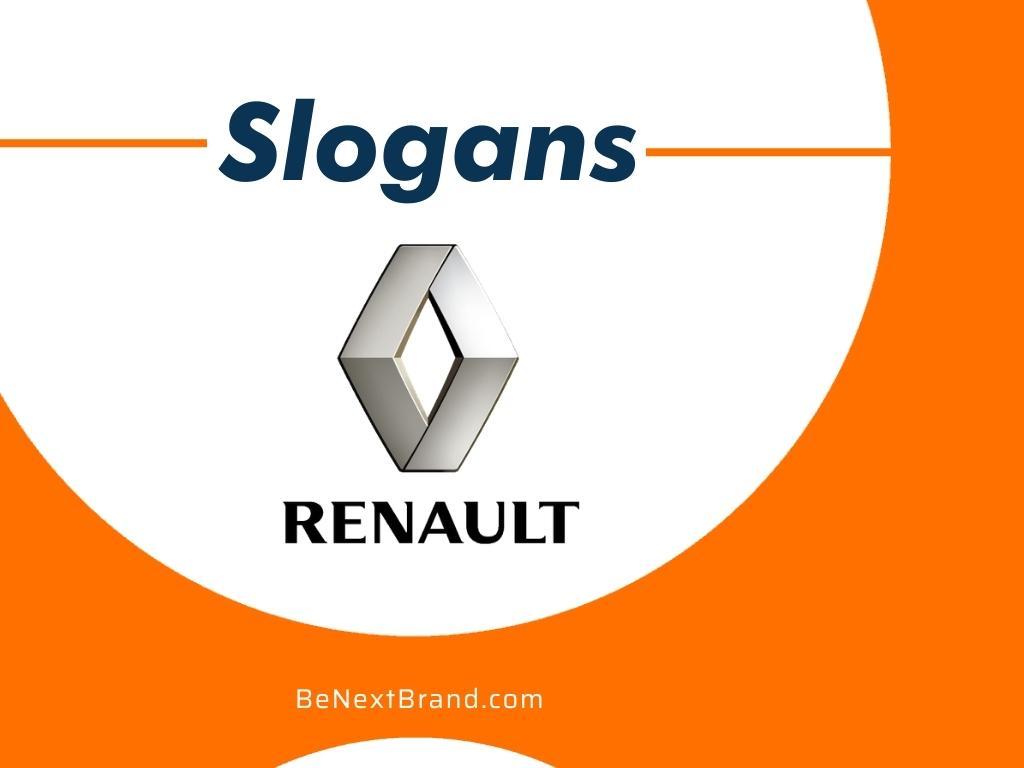Best Renault Brand Slogans