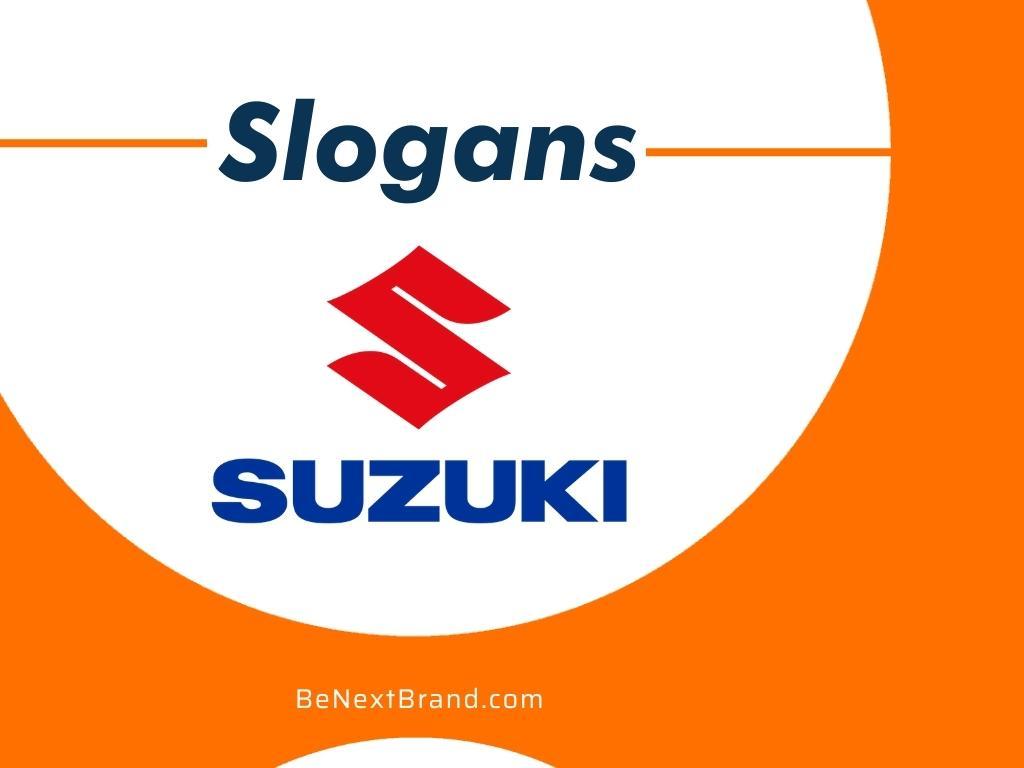 Best Suzuki Brand Slogans