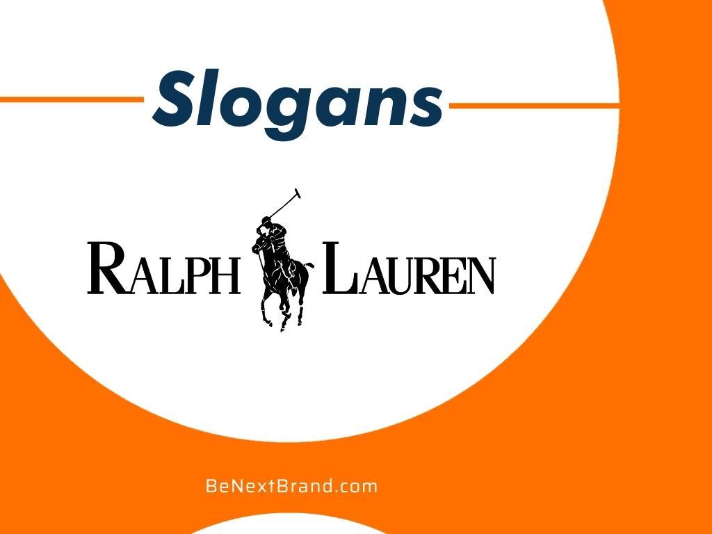 Ralph Lauren Brand Slogans