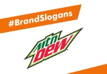 Mountain Dew Brand Slogans