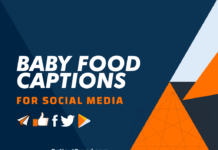 Baby Food Social Media Captions