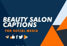 Beauty Salon Captions
