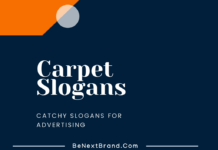 Carpet Marketing Slogans