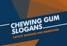 Chewing Gum Marketing Slogans