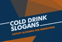 Cold Drink Marketing Slogans