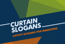 Curtain Marketing Slogans