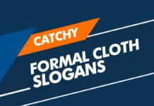 Formal Clothes Marketing Slogans