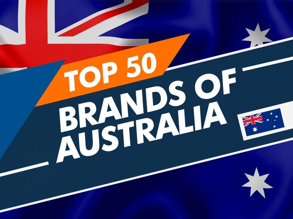 Top 50 brands of Australia
