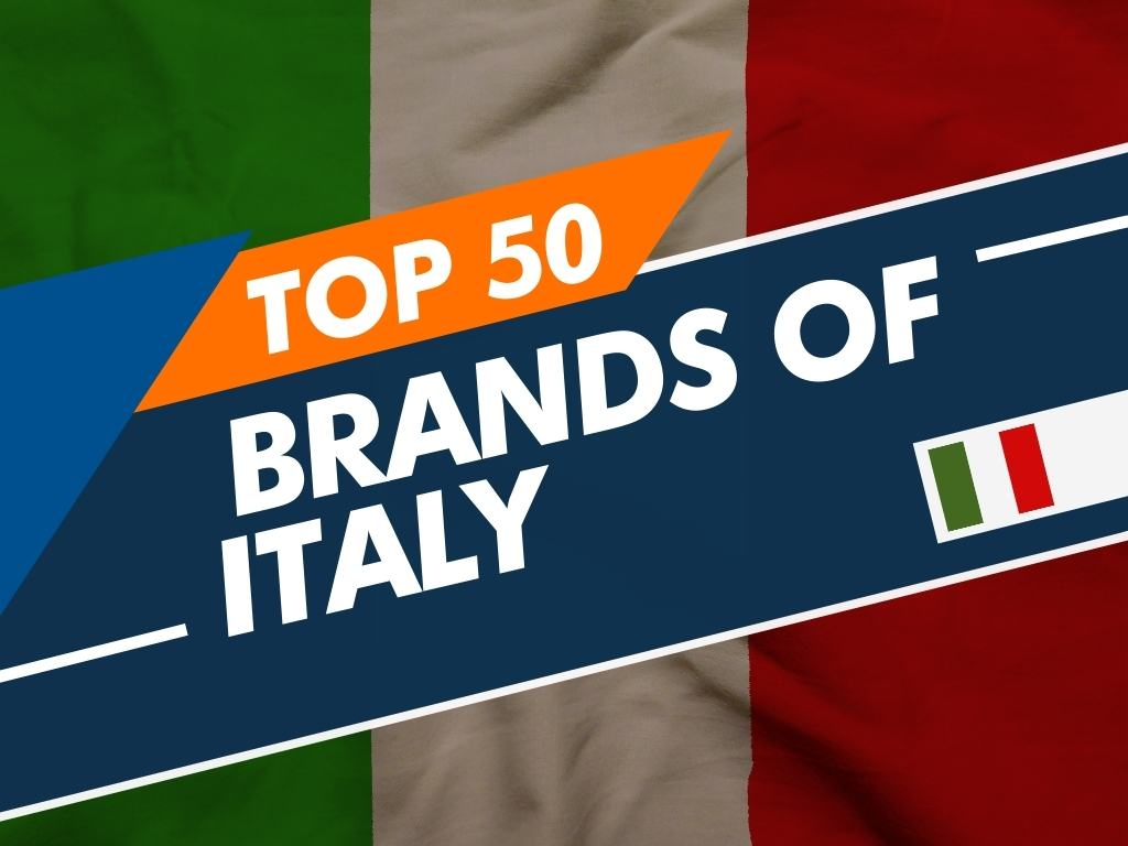 Top 50 Brands Of Italy