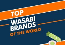 Wasabi brands in the world