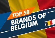 Top 50 Brands Of Belgium
