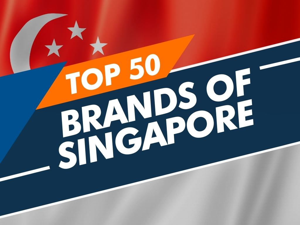 Top 50 brands of Singapore