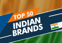 Top 50 Brands in the India