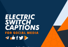 electric switch captions