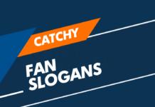 fan slogans