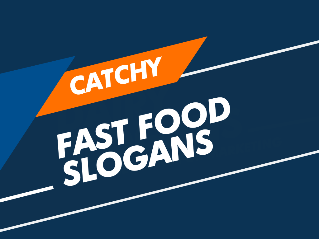 fast food slogans