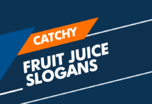 fruit juice slogans