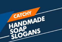 handmade soap slogans