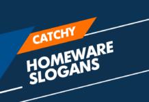 homeware slogans