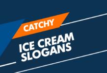 ice cream slogans