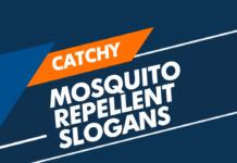 mosquito repellent slogans