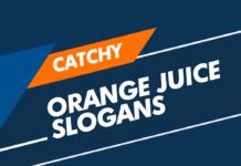 orange juice slogans