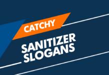 sanitizer slogans