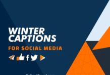 Winter Captions
