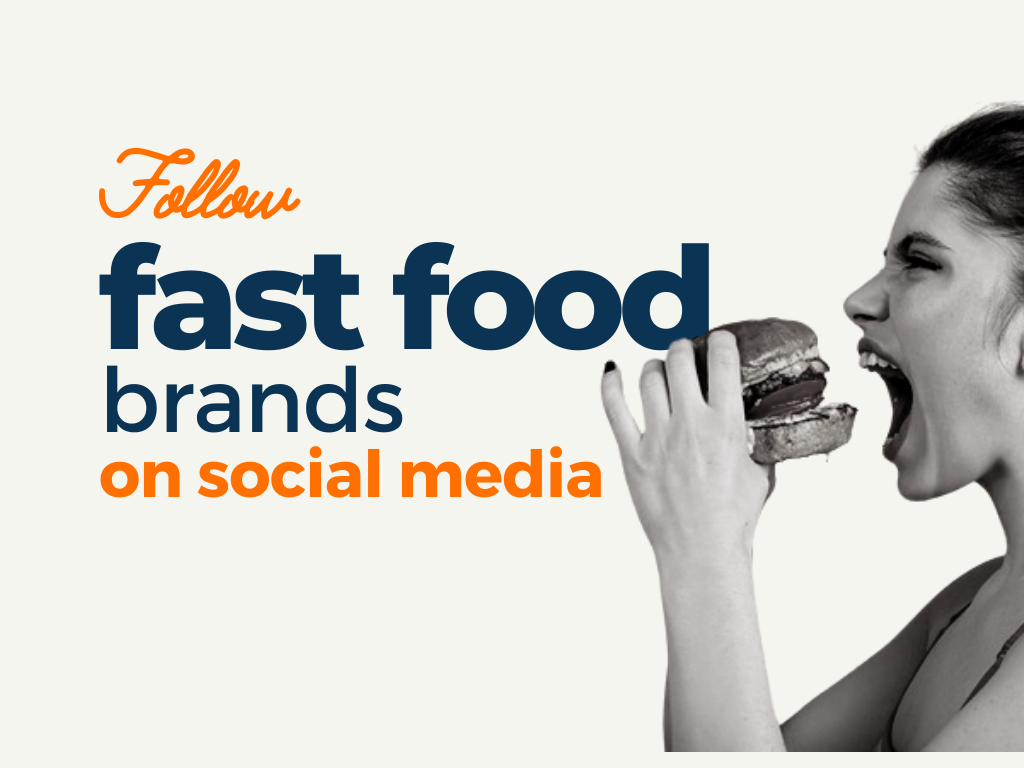 Fast Food Brands to Follow on Social Media