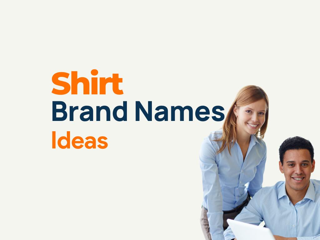 Shirt Brand Name Ideas