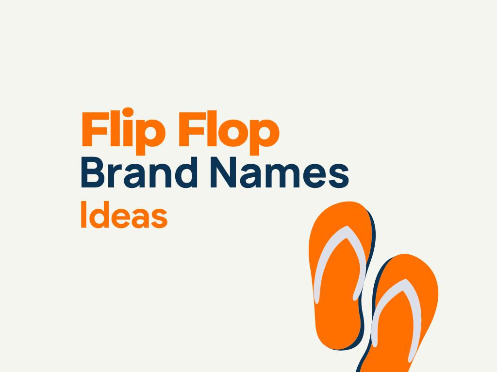 flip flop brand names
